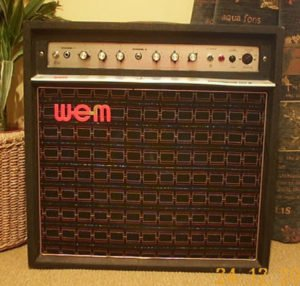 WEM Dominator valve amplifier