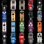 Types of Guitar Effect Pedal Stompboxes