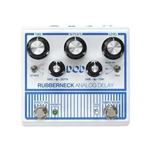 DOD Rubberneck Electric Guitar Analog Delay Pedal  -  Guitar Effect Stomp Box