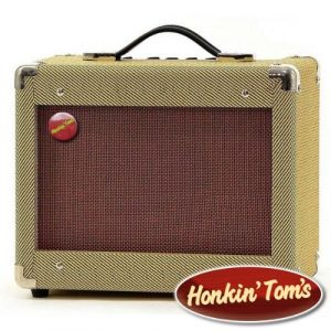 Honkin Toms Vintage 15W Guitar Amp and Harmonica Amplifier