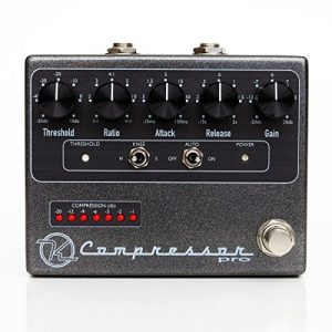 Keeley KCPro Guitar Signal Compressor Pedal - Boutique Guitar Stomp Box Effect