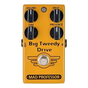 Mad Professor Big Tweedy Drive Boutique Guitar Pedal Stomp Box Effect