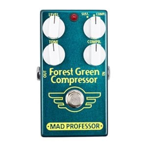 Mad Professor Forest Green Compressor Boutique Guitar Pedal Stomp Box Effect