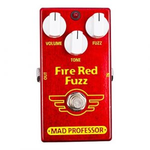 Mad Professor Fire Red Fuzz Boutique Guitar Pedal Stomp Box Effect