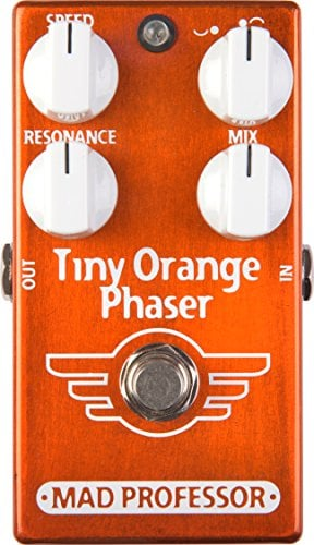 Mad Professor Tiny Orange Phaser Boutique Guitar Pedal Stomp Box Effect