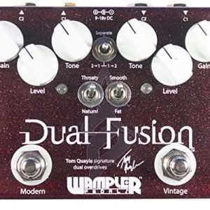Wampler Dual Fusion Overdrive Pedal