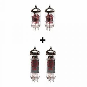Replacement Valve Kit for Carvin V16 (2 x ECC83 2 x Matched EL84)