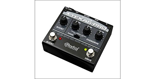 Radial Tonebone Texas Pro Overdrive Guitar Pedal Effect