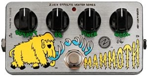 Vexter Woolly Mammoth Fuzz FX Pedal by Zvex