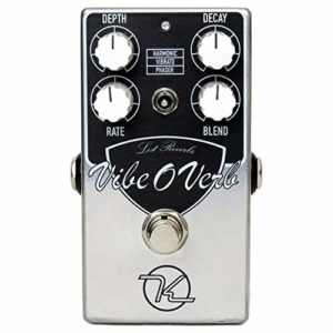 Keeley Vibe-O-Verb Vibe and Reverb Pedal - Boutique Guitar Stomp Box Effect