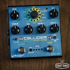 Source Audio Collider Delay + Reverb Guitar Effect Pedal