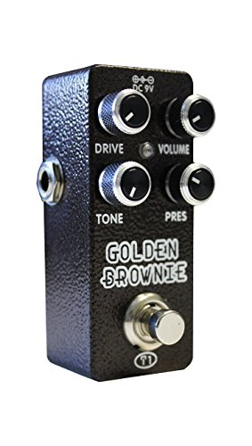 Xvive Golden Brownie Distortion Guitar Pedal Thomas Blug (T1)
