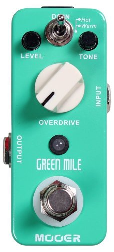 Mooer Green Mile Tubescreamer Clone Guitar Pedal